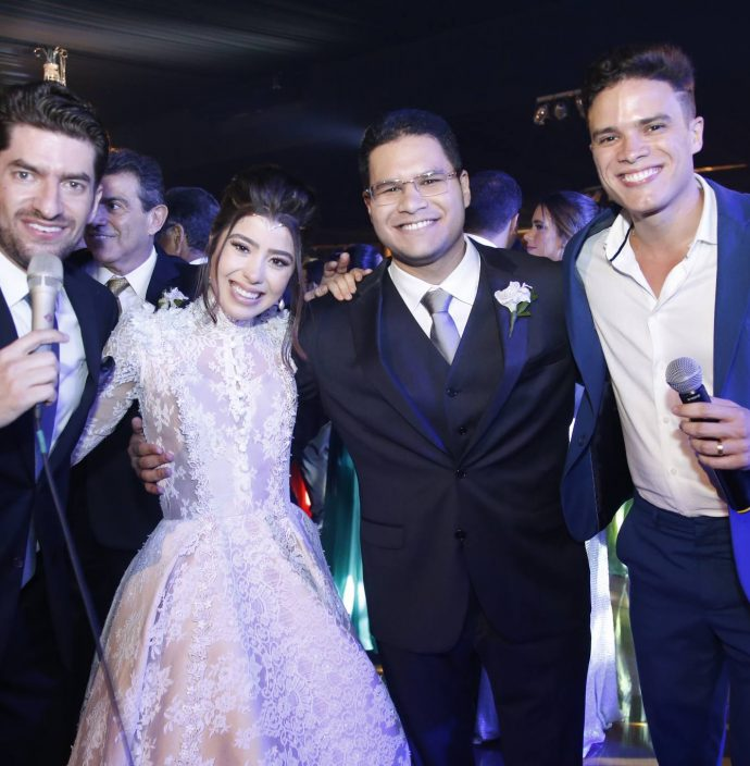 Paulo Jose, Rayssa Cavalcante, Alexandre Filho E Marcos Lessa