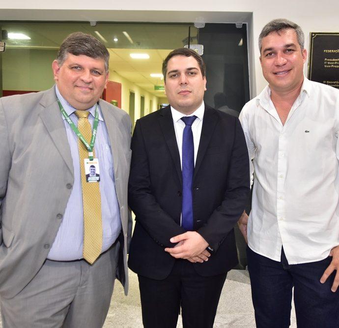 Paulo Nobrega, Darlan Moreira, Mark Augusto