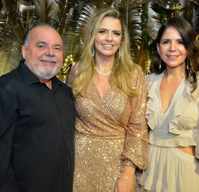 Pedro Carapeba, Tais Pinto E Maria Lucia Negrão