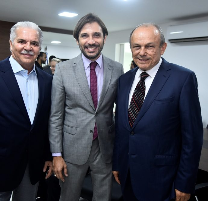 Pio Rodrigues, Guilherme Sampaio, Onorio Pinheiro