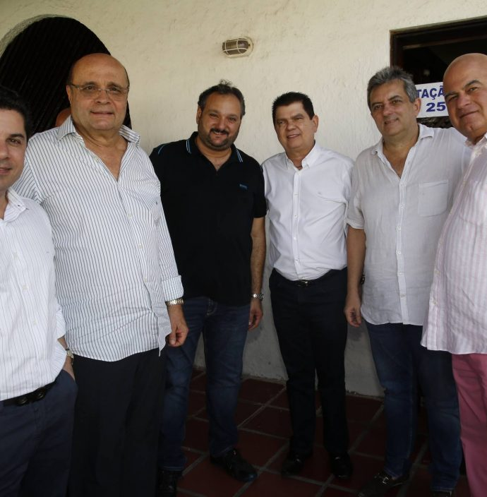 Pompeu Vasconcelos, Fernando Cirino, Patriolino Dias, Mauro Benevides Filho, Jose Guedes Neto E Luciano Cavalcante