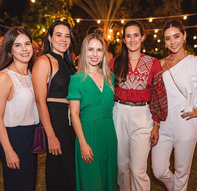 Priscila Steves, Carol Barbosa, Katarina Machado, Marina Ary E Livia Aguiar