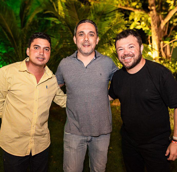 Queiros Junior, Fernado Brigido E Jose Eugenes
