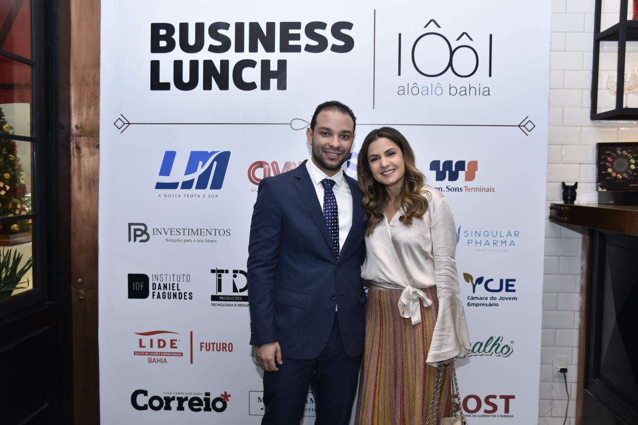 Alô Alô Bahia reúne jovens empresários durante Almoço de Negócios em Salvador