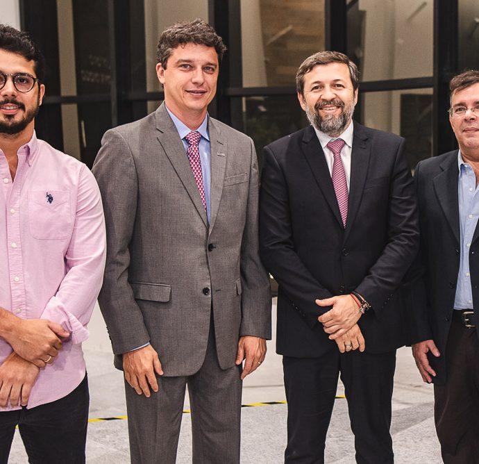 Rafael Fujita, Andre Siqueira, Elcio Batista E Sergio Alcantara