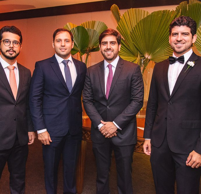 Rafael Fujita, Ricardo Cavalcante, Edgar Ximenes E Lucas Camara