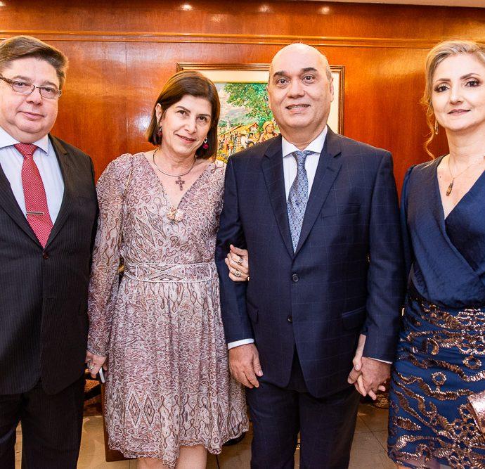 Raul Araujo, Marieta Barreira, Luciano Lima E Valeria Lima