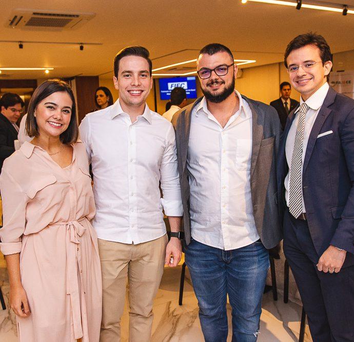 Rebeca Grogory, Pedro Gregory, Pedro Otoni E Rafael Albuquerque