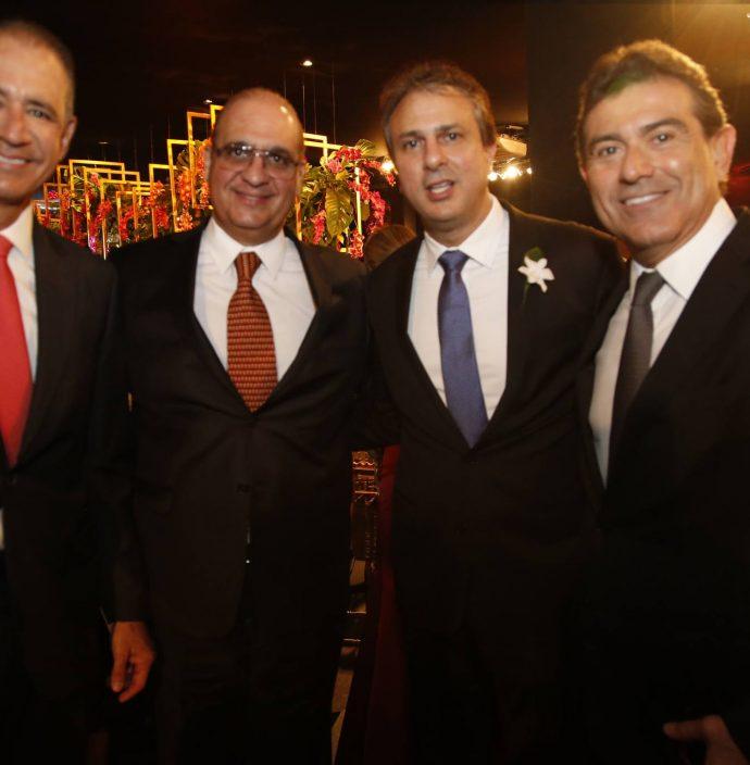 Regis Medeiros, Walder Ary, Camilo Santana E Alexandre Pereira