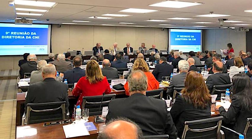 Ricardo Cavalcante participa da reunião de diretoria da CNI