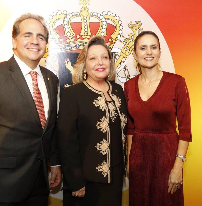 Ricardo Bacelar, Fernanda Jensen E Manoela Bacelar
