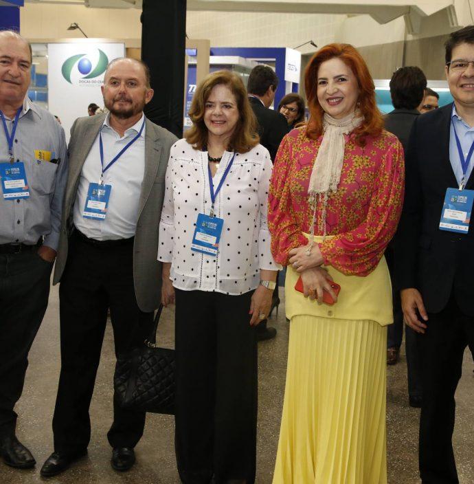 Ricardo Barbosa, Julio Cavalcante, Roseane Medeiros, Enid Camara E Silvio Carlos