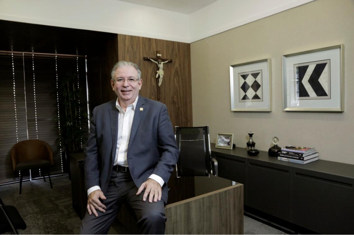 Ricardo Cavalcante trata de demandas da indústria com o ministro Paulo Guedes