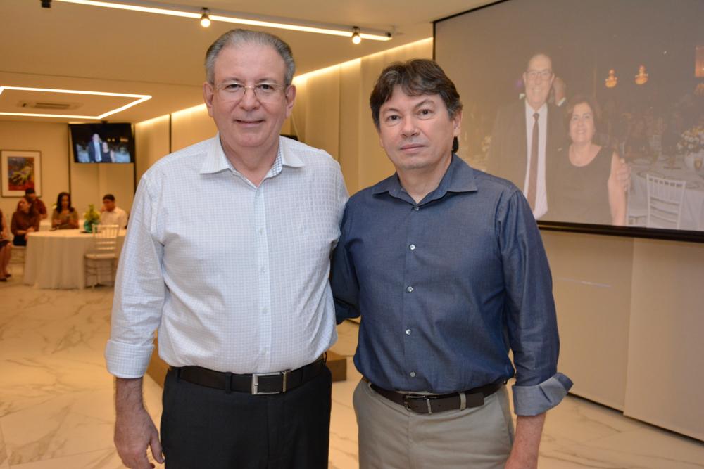 Ricardo Cavalcante e Edgar Gadelha são homenageados na Fiec