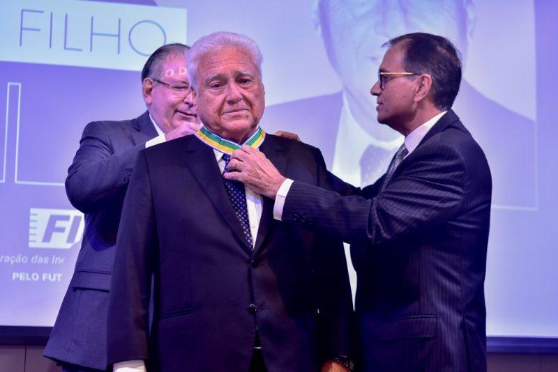 Honraria - Waldyr Diogo Filho é agraciado com a medalha da Ordem do Mérito Industrial da CNI