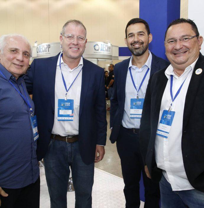 Ricardo Sabadia, Jorginho Albuquerque, Igor Pontes E Celio Fialho