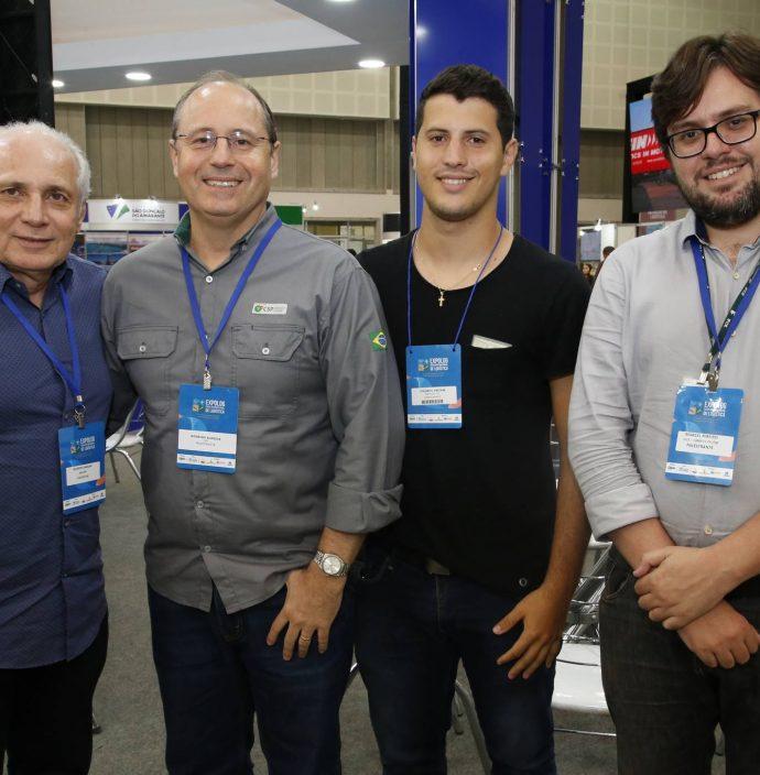 Ricardo Sabadia, Rodrigo Almeida, Eduardo Amorim E Marcel Ribeiro