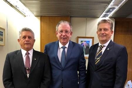 Ricardo Cavalcante busca novas melhorias à indústria do Ceará, durante reuniões em Brasília