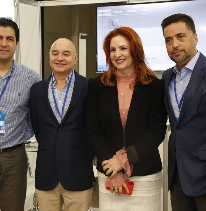 Richard Reinhairdt, Elias Rosa, Enid Camara E Renato Macedo
