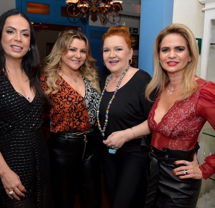 Roberta Fontenele, Silvana Guimarães, Claudia Rebouças E Germana Cavalcante