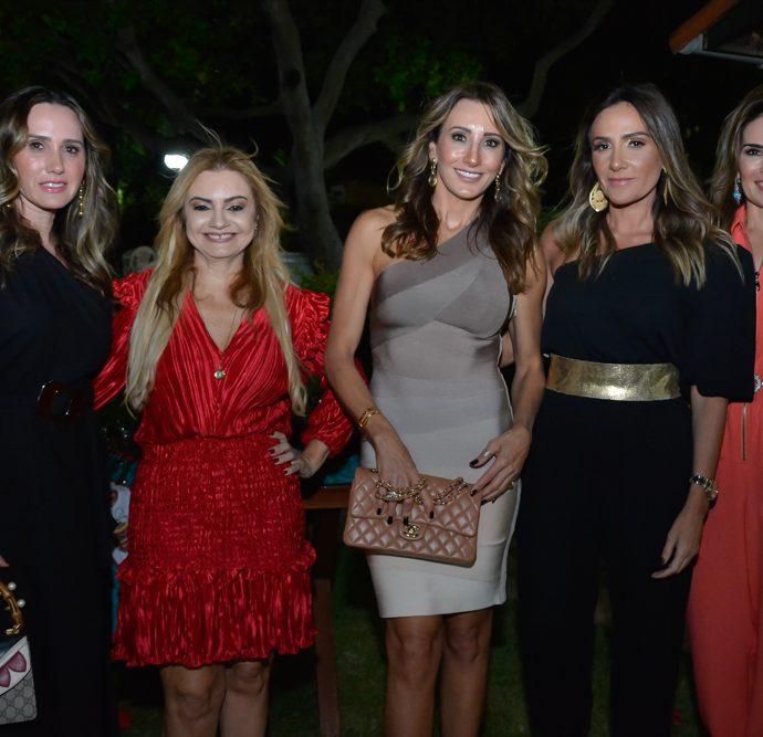 Roberta Nogueira, Ana Cristina Camelo, Melaine Diogo, Renata Oliveira E Eveline Fujita