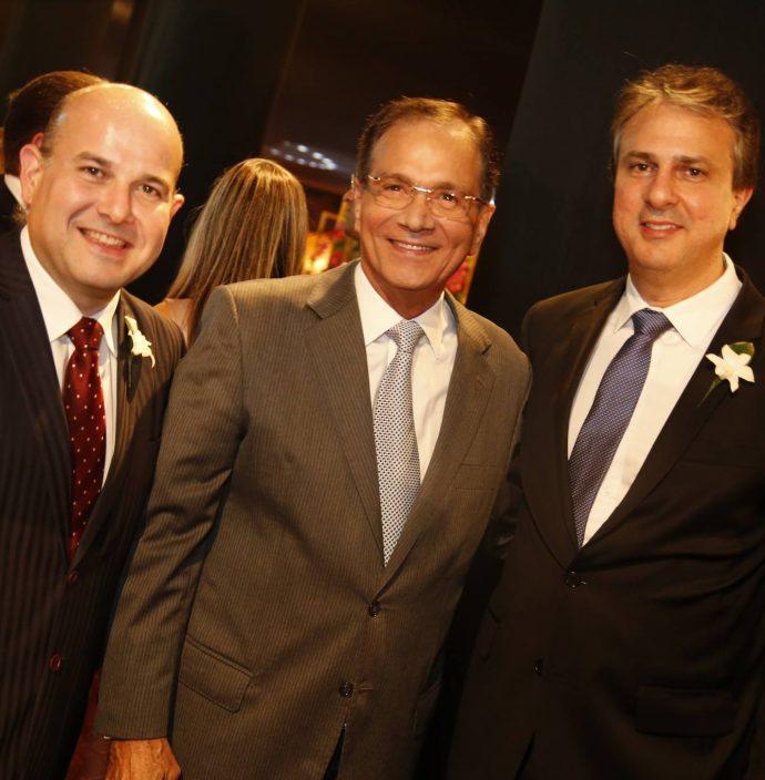Roberto Claudio, Beto Studart E Camilo Santana