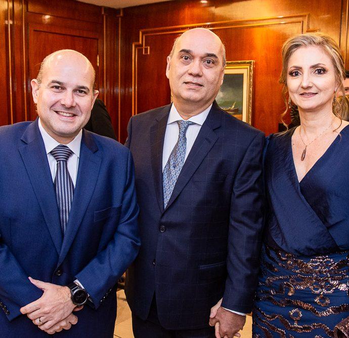 Roberto Claudio, Luciano Lima E Valeria Lima
