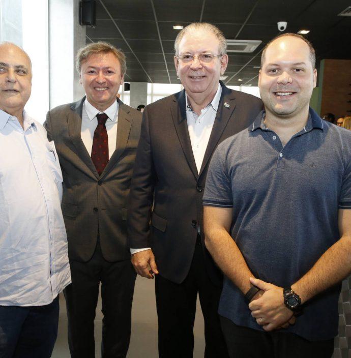Roberto Pessoa, Mauricio Filizola, Ricardo Cavalcante E Heotor Freire