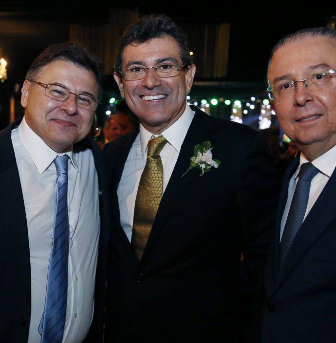 Robinson De Castro, Alexandre Pereira E Antonio Jose Mello