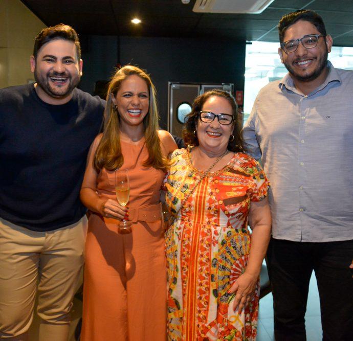 Rodolfo Santiago, Elaine Alves, Neide Figueiredo E Erivelton Oliveira