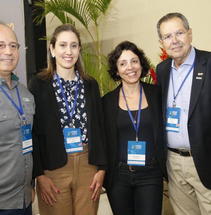 Rodrigo Almeida, Alessandra Grangeiro, Ana Loturco E Ricardo Parente