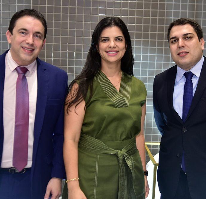 Rodrigo Pereira, Karina Frota, Darlan Moreira