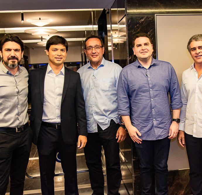 Romulo Santos, Thiago Fujiwara, Viana Junior, Andre Araujo E Ronaldo Barbosa