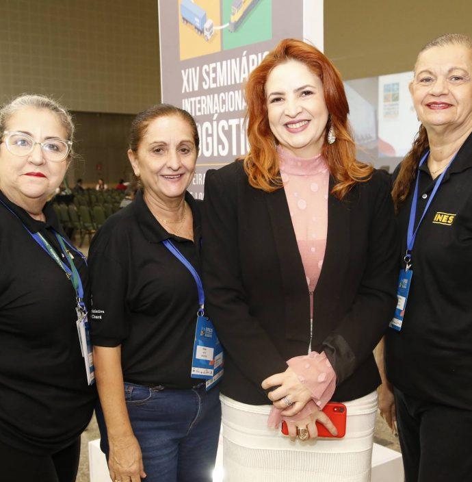 Rosangela Lima, Fatima Carvalho, Enid Camara E Berlarmina Ponte