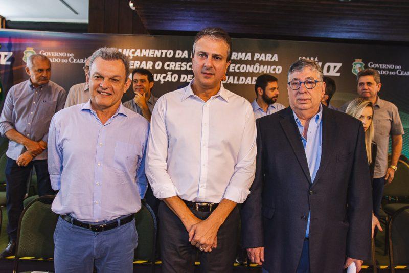 Sarto Nogueira, Camilo Santana E Maia Junior
