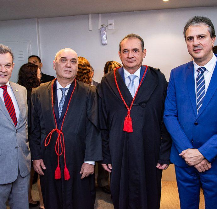 Sarto Nogueira, Luciano Lima, Washington Araujo E Camilo Santana