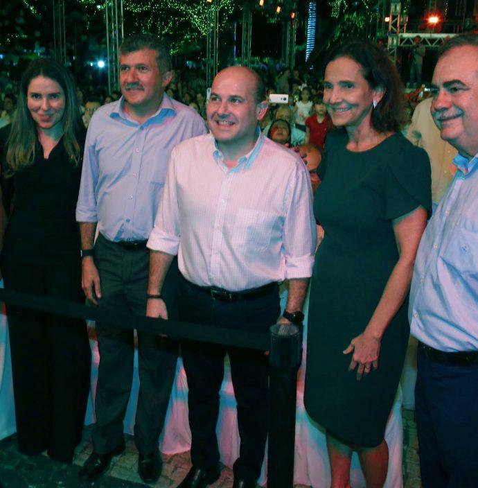 Socorro Franca, Agueda Muniz, Antonio Henrique, Roberto Claudio, Izolda Cela E Assis Cavalcante