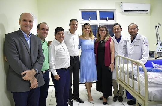 Camilo e Onélia Santana inauguram nova ala de UTI no hospital infantil da Sopai