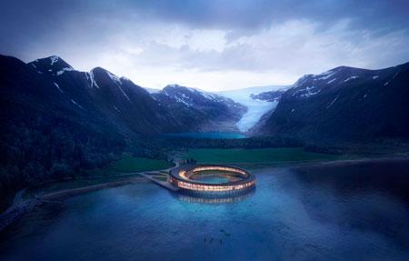Noruega projeta primeiro hotel que irá produzir mais energia do que consome