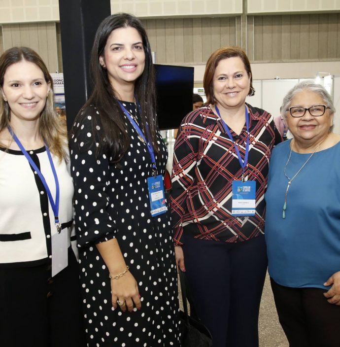 Tais Bertozo, Ana Karina, Marta Campelo E Gloria Ribeiro