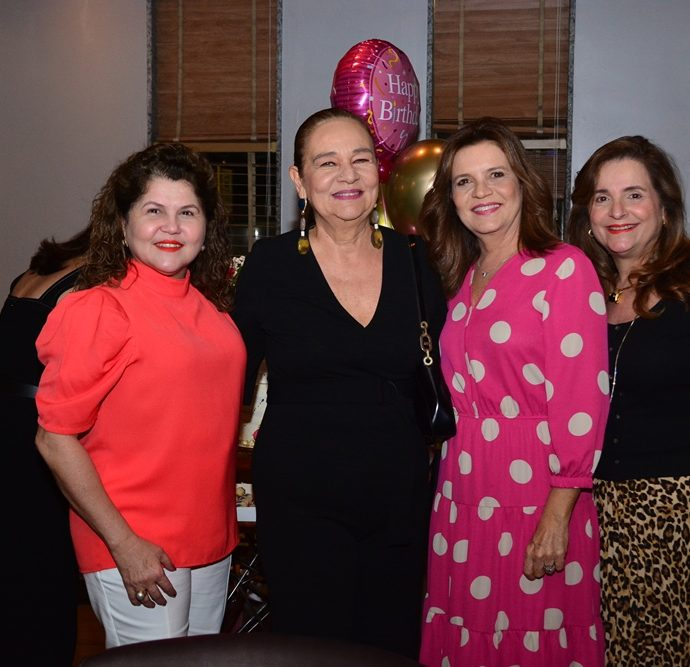 Teka Otoch, Cristiane Levy, Geni Correia Lima E Heloisa Diogo De Holanda