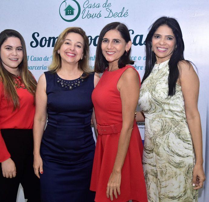Thailla Castro, Leonice Holanda, Jaqueline Assunção, Adriana Santos