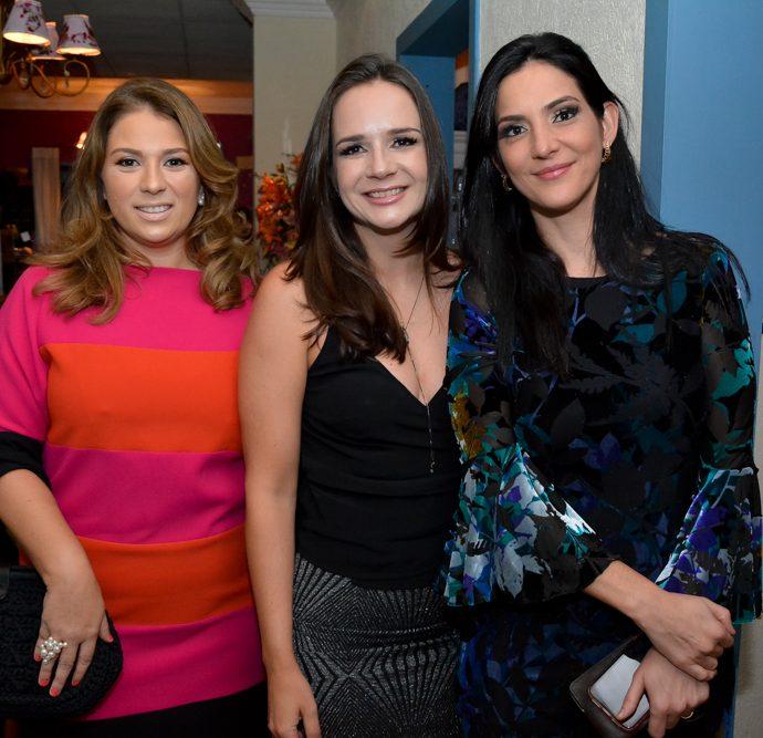 Thaissa Garcia, Cristiane Perez E Larissa Sendra