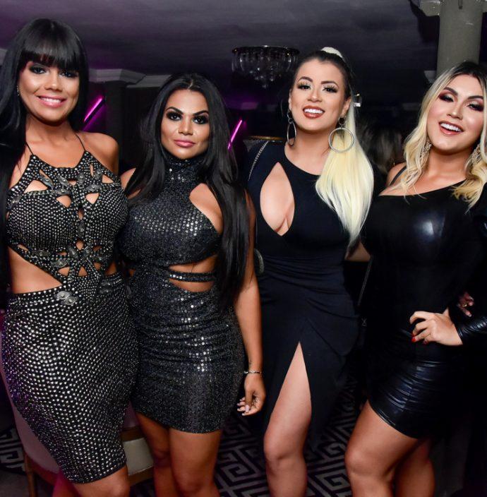 Theila Sabrina, Damires Vieira, Larissa E Kayla Karim