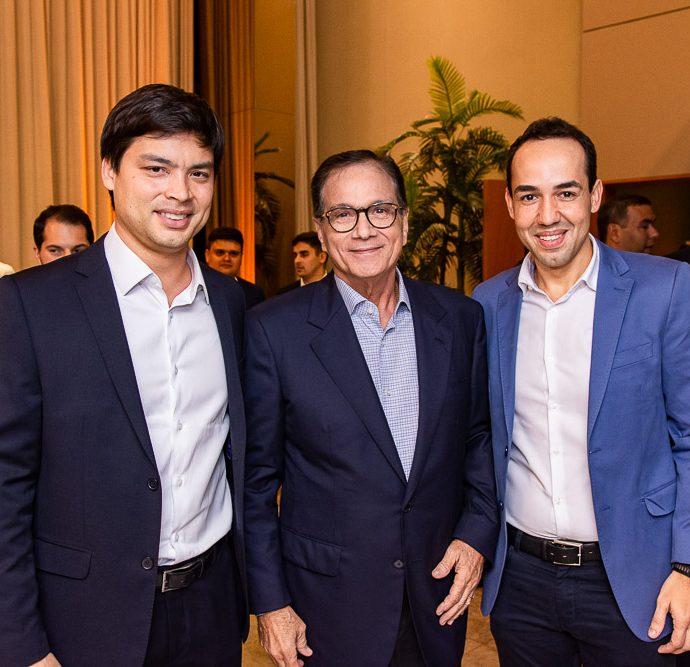 Thiago Fujiwara, Beto Studart E Edson Farias