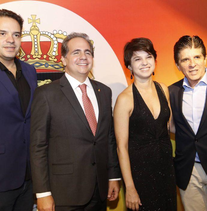 Thiago Holanda, Ricardo Bacelar, Fernanda Teles E Dito Machado