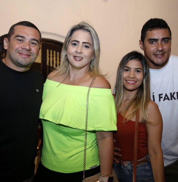 Thiago Rodrigues, Claudia Lelli, Ingrid Cris E Alexandre Marques