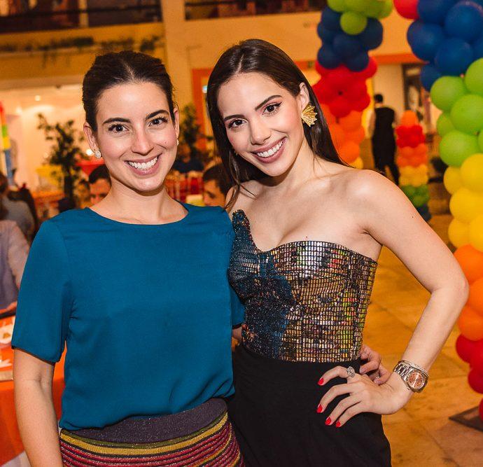 Ticiana Barreira E Nicole Vasconcelos