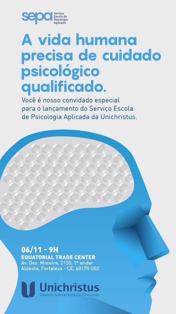 Unichristus apresenta o novo Serviço Escola de Psicologia Aplicada