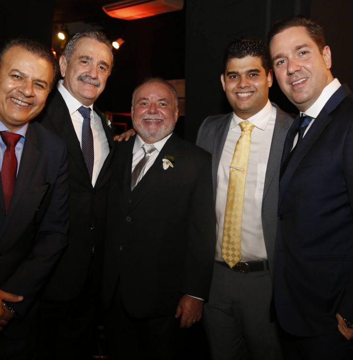 Valdir Fernandes, Bismarck Maia, Pedro Carapeba, Davi Benevides E Eduardo Bismarck
